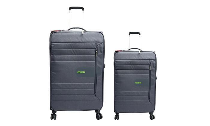 3 זוג מזוודות American Tourister מבית SAMSONITE