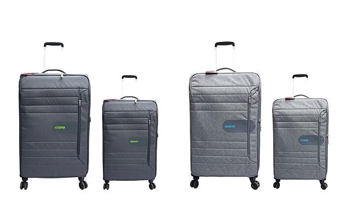 5 זוג מזוודות American Tourister מבית SAMSONITE