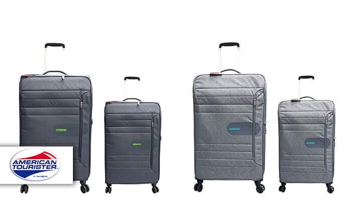 2 זוג מזוודות American Tourister מבית SAMSONITE