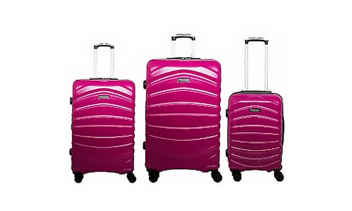 3 סט מזוודות דיסקברי