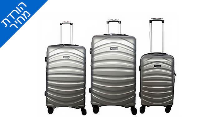 4 סט מזוודות דיסקברי