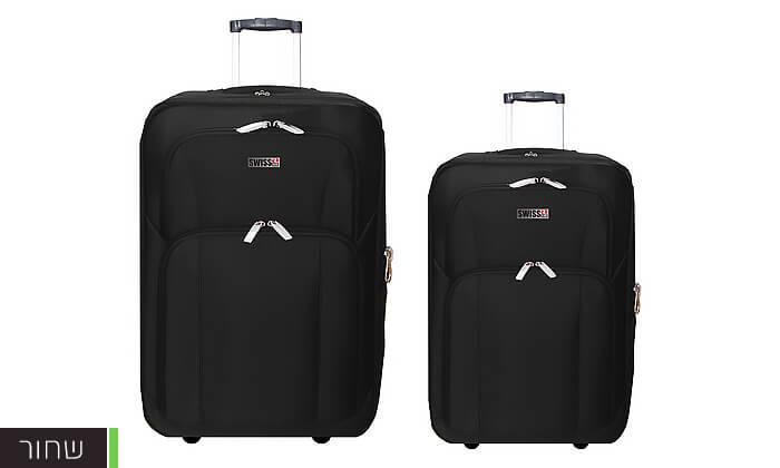 5 סט מזוודות בד 24 ו-28 אינץ' SWISS CLUB