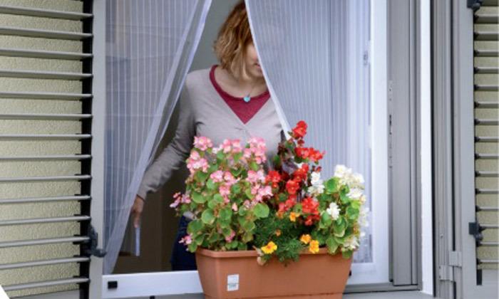 2 רשת נגד יתושים לחלון הבית