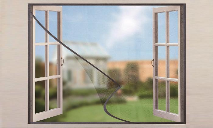 3 רשת נגד יתושים לחלון הבית