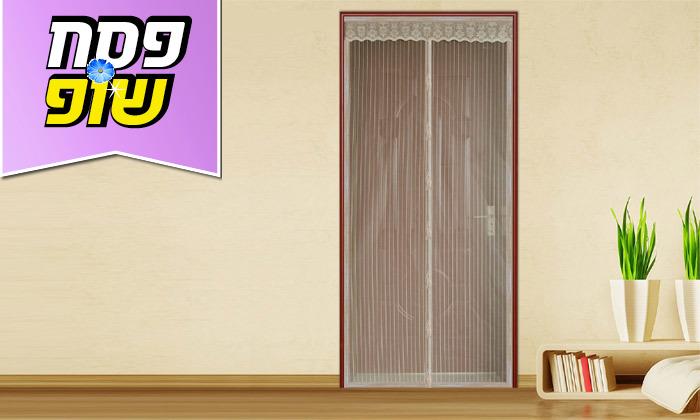 6 רשת נגד יתושים לדלת או לחלון