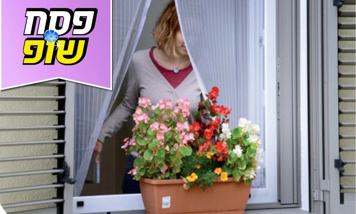 3 רשת נגד יתושים לדלת או לחלון