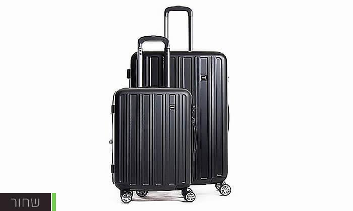 3 סט מזוודות קשיחות CalPaks Wander