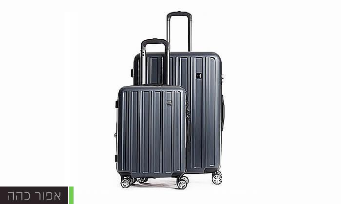 5 סט מזוודות קשיחות CalPaks Wander