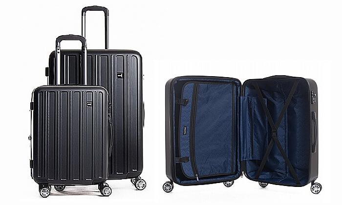 2 סט מזוודות קשיחות CalPaks Wander