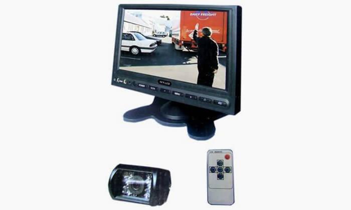 2 מסך רגל ומצלמת רוורס במוטורולה- כולל התקנה חינם
