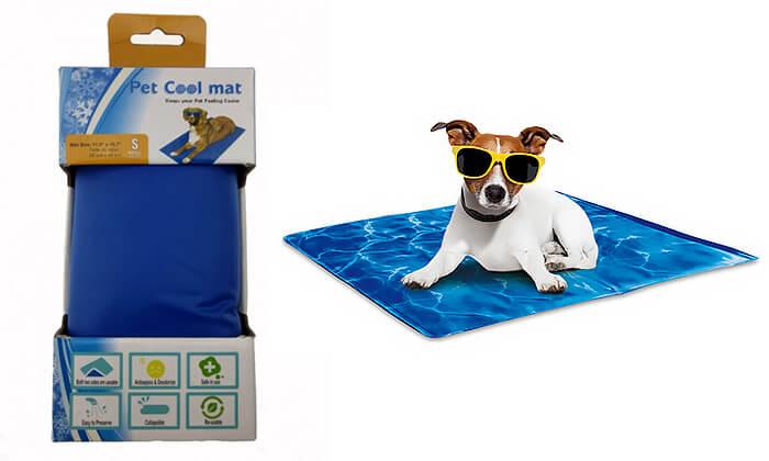 4 משטח קירור לחיות מחמד Pet Cool Mate - מבחר גדלים