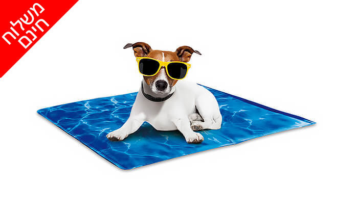 3 משטח קירור לחיות מחמד Pet Cool Mate - משלוח חינם