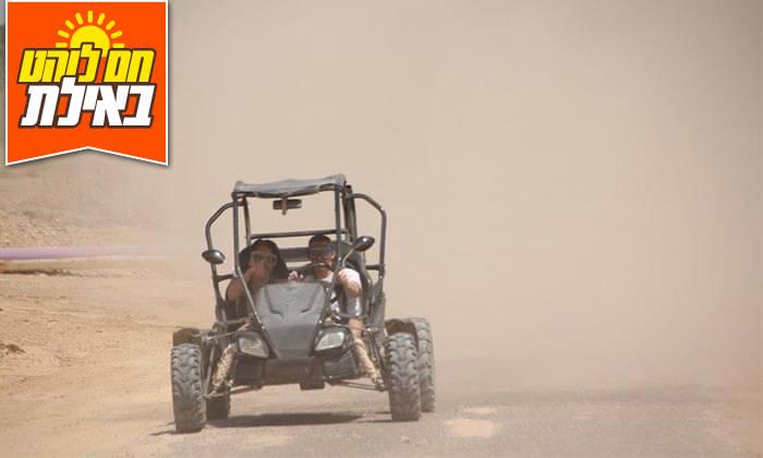 2 נהיגת שטח זוגית בבאגי עם דזרט ווייב אילת