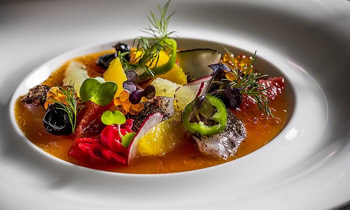 6 GROO PREMIUM | ארוחת שף במסעדת קלואליס הכשרה במלון הילטון, תל אביב