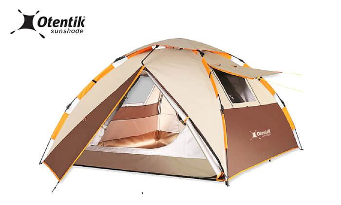 2 דיל חגיגת קיץ: אוהל מודולרי עם פתיחה מהירה לשלושה אנשים