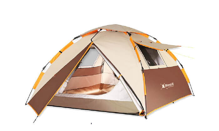 3 דיל חגיגת קיץ: אוהל מודולרי עם פתיחה מהירה לשלושה אנשים
