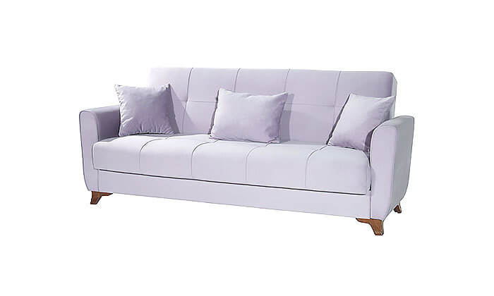 3 ספה תלת מושבית אורטופדית נפתחת