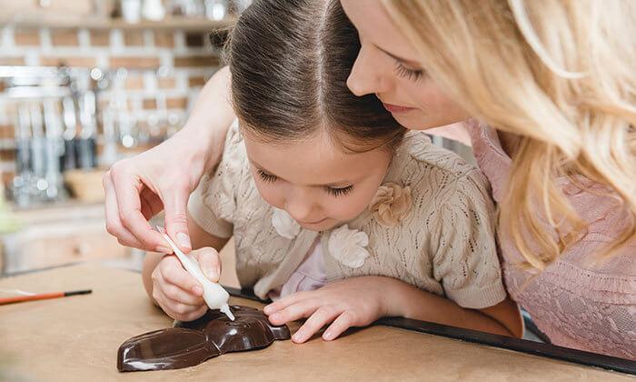 4 סדנת שוקולד להורים וילדים - אורטל סדנאות בוטיק, ראשון לציון