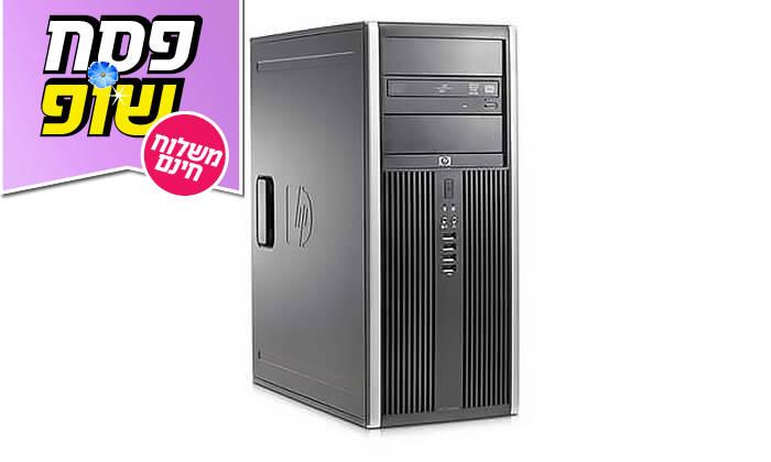4  מחשב נייח HP/DELL/LENOVO עם מקלדת ועכבר מתנה - משלוח חינם