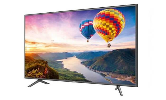 טלוויזיה חכמה 4K HISENSE, מסך 65 אינץ'