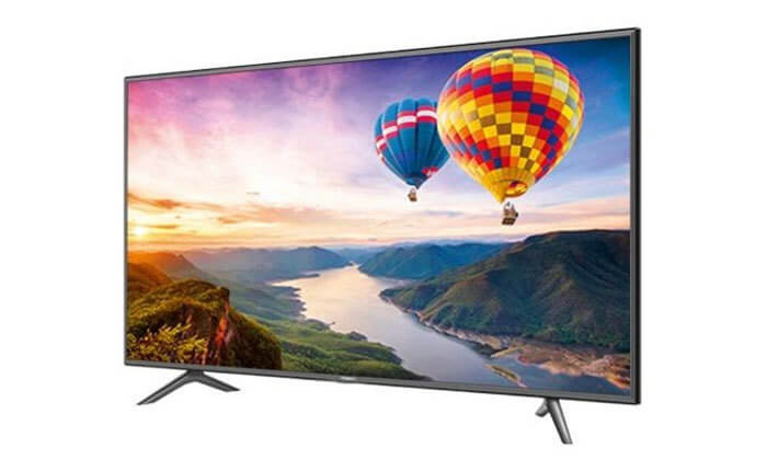 2  טלוויזיה SMART LED TV 4K HISENSE, מסך 55 אינץ'