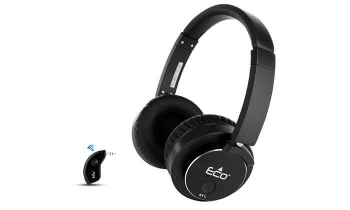 7 אוזניות אלחוטיות Eco800