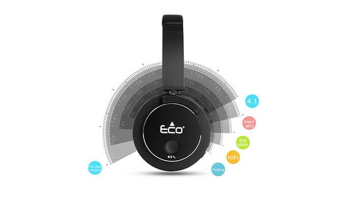 5 אוזניות אלחוטיות Eco800