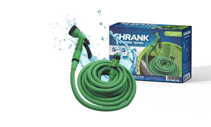 6 צינור השקייה מתכווץSHRANK - משלוח חינם