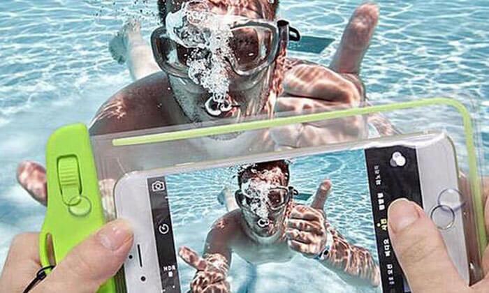 3 נרתיק סמארטפון אטום למים