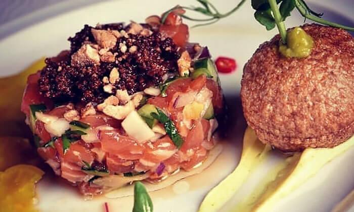 5 ארוחת ערב זוגית מהתפריט של שף אביב משה במסעדת פיפט אבניו הכשרה, אילת