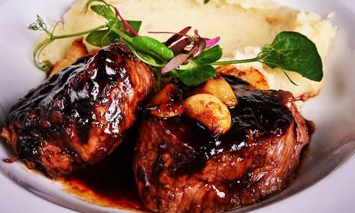 9 ארוחת ערב זוגית מהתפריט של שף אביב משה במסעדת פיפט אבניו הכשרה, אילת