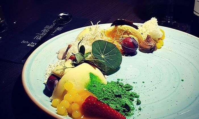 10 ארוחת ערב זוגית מהתפריט של שף אביב משה במסעדת פיפט אבניו הכשרה, אילת