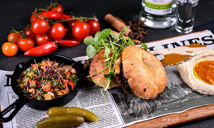 15 ארוחת ערב זוגית מהתפריט של שף אביב משה במסעדת פיפט אבניו הכשרה, אילת