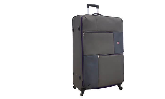 3 מזוודה משפחתיתSWISS LITE בגודל 32 אינץ'