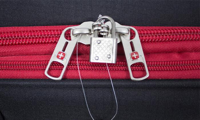 10 מזוודה משפחתיתSWISS LITE בגודל 32 אינץ'