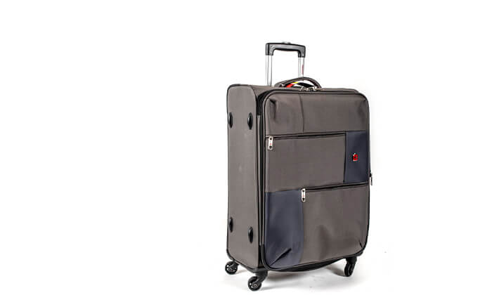 5 מזוודה משפחתיתSWISS LITE בגודל 32 אינץ'