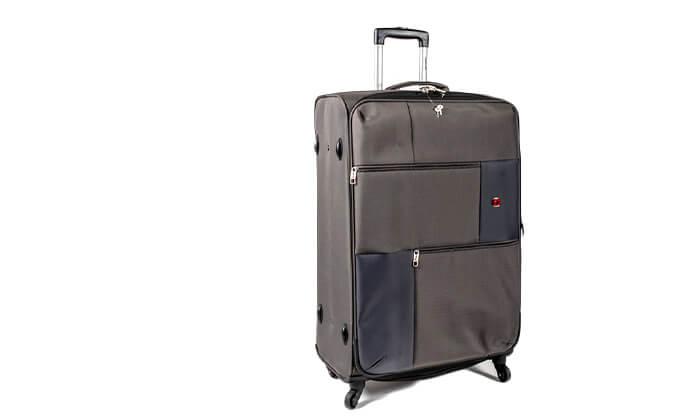 6 מזוודה משפחתיתSWISS LITE בגודל 32 אינץ'