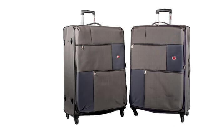14 מזוודה משפחתיתSWISS LITE בגודל 32 אינץ'