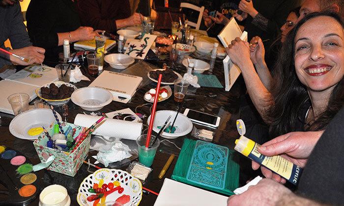 5 סדנת ציור משותף לזוגות, חיפה