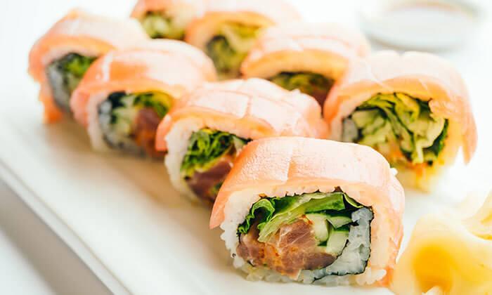 5 מגש סושי במסעדת סאקורה הכשרה, פלורנטין