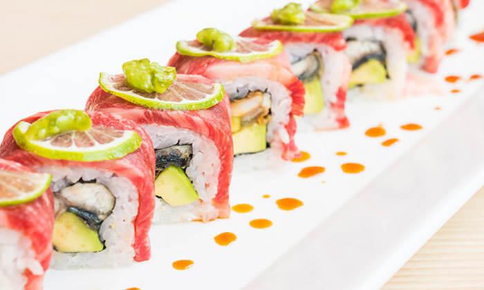 6 מגש סושי במסעדת סאקורה הכשרה, פלורנטין
