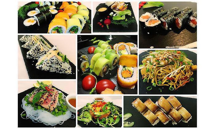 4 ארוחה אסייתית בסאקורה סושי בר הכשרה, פלורנטין