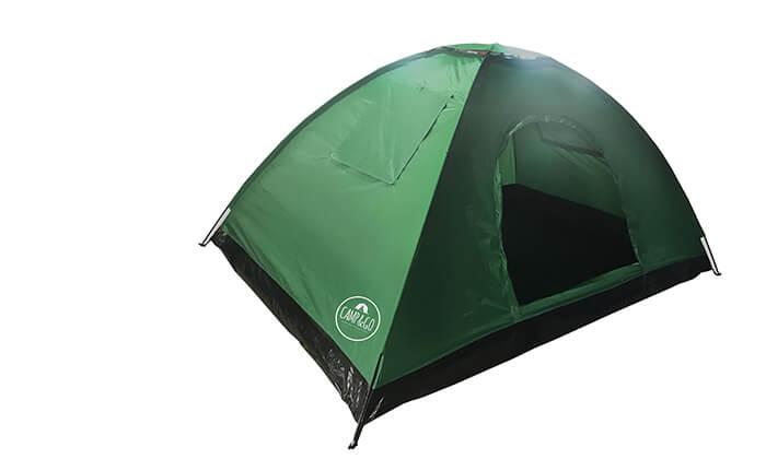 אוהל ל-6 אנשים CAMP&CO - משלוח חינם !