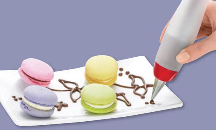 4 עט לקישוט עוגות - משלוח חינם!