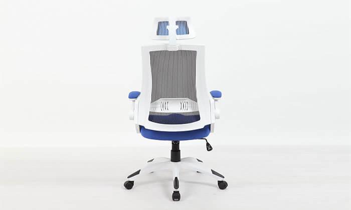 4 כסא מנהלים אורטופדי עם גב רשת