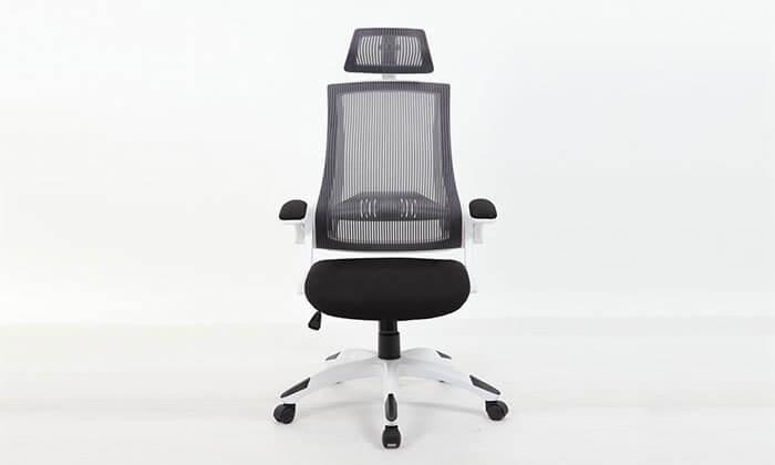 7 כסא מנהלים אורטופדי עם גב רשת