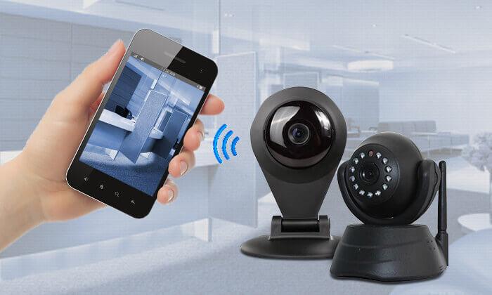 2 מצלמת אבטחה עם התראות לנייד