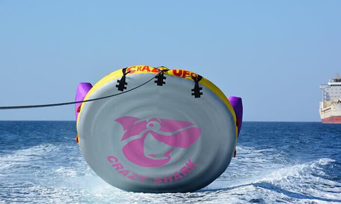 9 שייט על סירת טורנדו ואבובים, חוף נביעות אילת