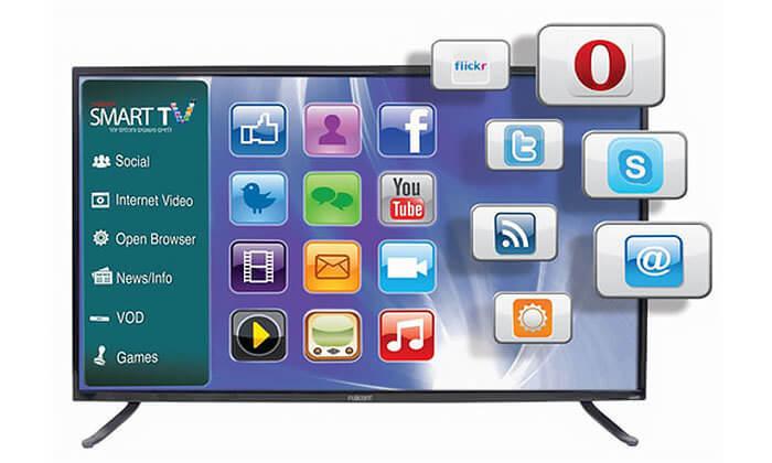 2 טלוויזיה חכמה Fujicom פוג'יקום, מסך 49 אינץ'