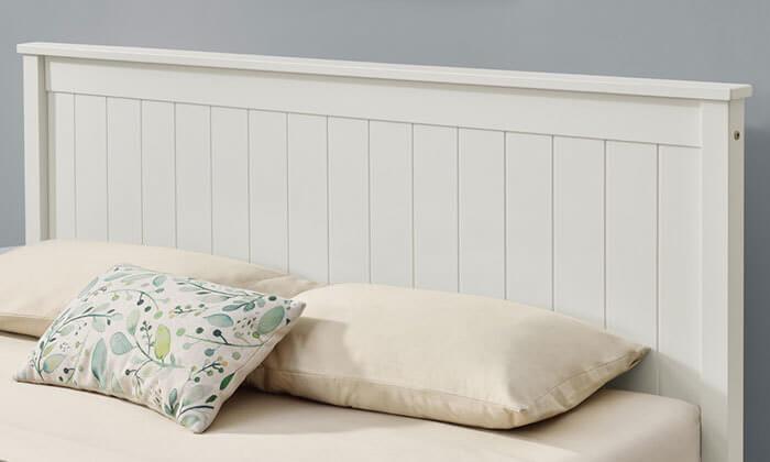 7 מיטה זוגית מעץ מלא HOME DECOR